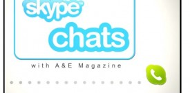 Skype Chat with A&E Magazine