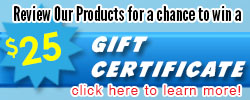Product Review Contest – Win a $25 Gift Certificate!