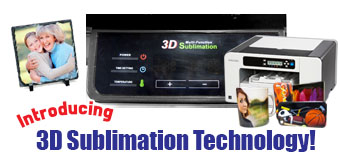 Coastal Business Supplies Introduces 3D Sublimation Technology!