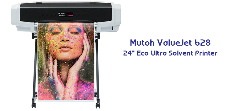 Desktop Solvent Printing 101: The Mutoh VJ628 24″ Solvent Printer