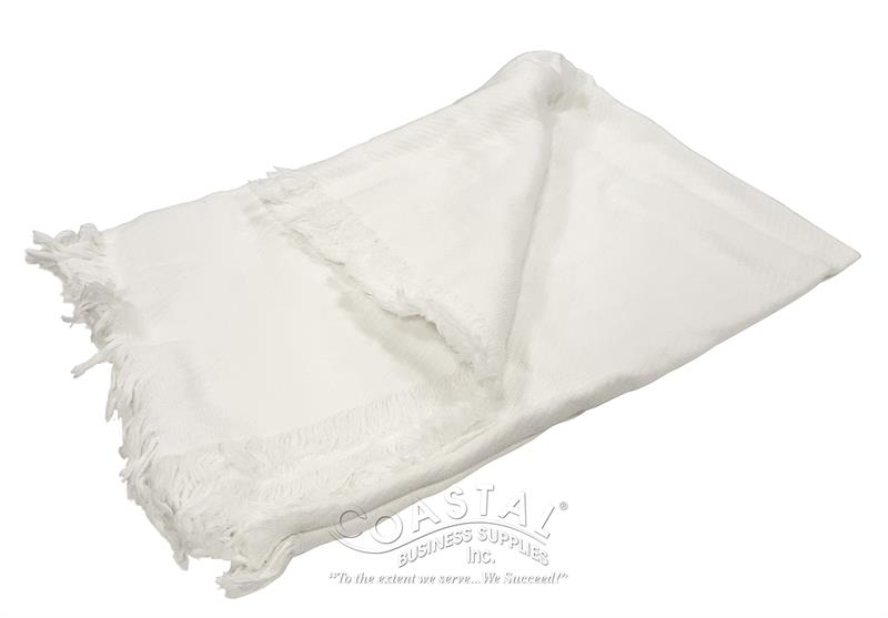 Vapor Apparel Sublimation Throw – All White for All-Over Printing