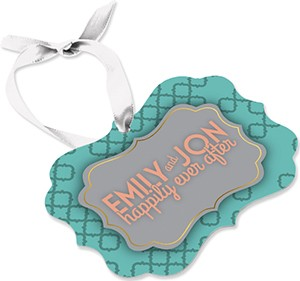Keepsake Two-Sided Ornament - Benelux Design