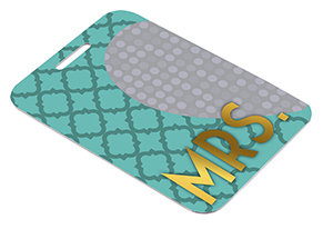 Two-Sided Sublimation Bag Tag for Luggage