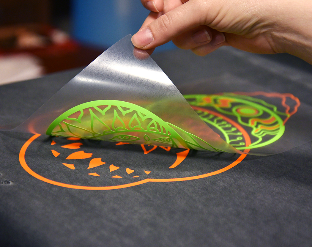 How To Create Multi Colored Shirts With Heat Transfer