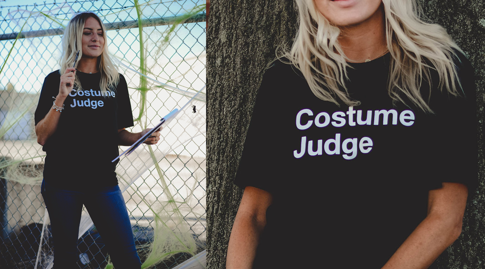 Simple DIY Halloween Costume with heat transfer vinyl from Coastal Business Supplies