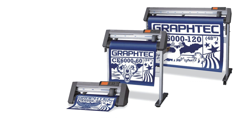 The Graphtec CE6000 PLUS Vinyl Cutters are Here!